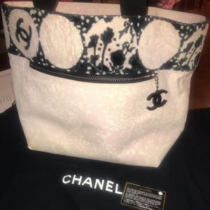 Pink Chanel Tote